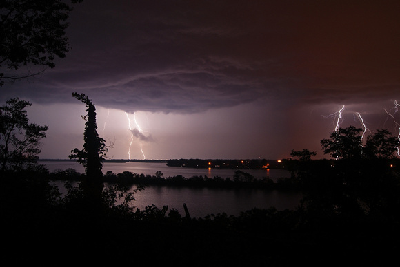 Thunderstruck at Sinnissippi Lake